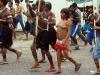 Presença da mulher Yanomami na manifestação na FUNAI