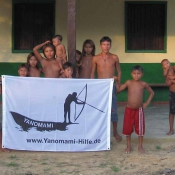 Die Yanomami bedanken sich für die Unterstützung