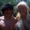 Santana, der Yanomami von Sipoi, kam auch zum Einweihungsfest der Krankenstation.