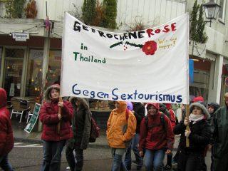 Solidaritätsmarsch Altötting - Gegen Sextourismus