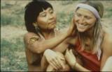 Christina Haverkamp en su primer contacto con los yanomamis