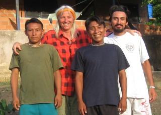 Pancho, Christina, Christoval und Dr. Dario