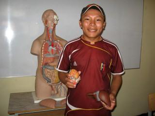 Ery Yaki Yaki in der Krankenpflege-Ausbildung