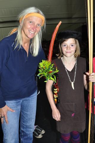 Christina Haverkamp mit Schülerin
