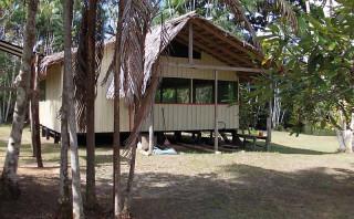 Die kleine Urwaldschule in Poraquequara
