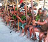 Über 200 Yanomami aus 14 Dörfern waren anwesend
