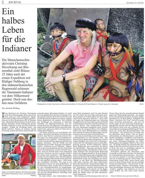Ein halbes Leben für die Indianer