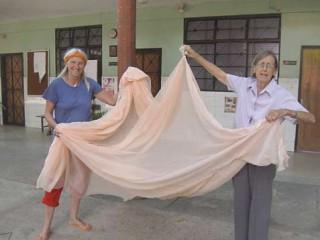 Moskitonetze für die Yanomami