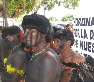 Yanomami dulden keine weitere Hinhaltetaktik