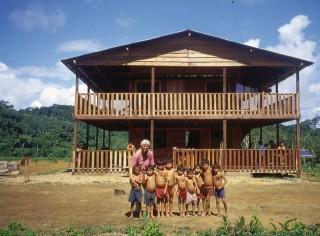 """Nuestra """"perla"""", el centro de salud en Papiu Kayanaú."""