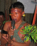 Los Yanomami defienden sus derechos.