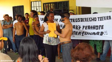 La solicitud fue presentada este jueves ante la Comisión Regional de Demarcación del Estado Amazonas
