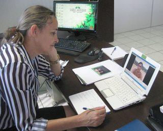 Claudette Schuertz, coodinadora de las autoridades de salud.