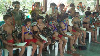 Die Yanomami wollen in ihrer Traditon weiterleben