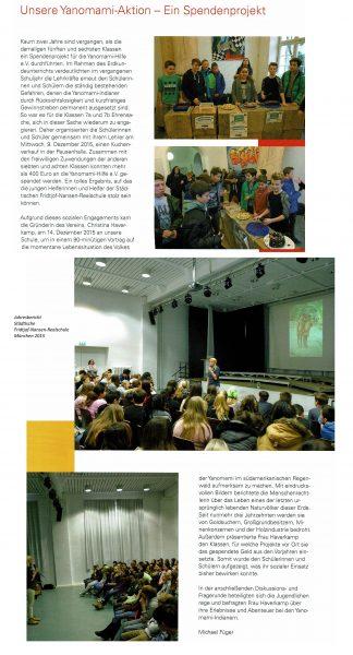 FNR Jahresbericht Yanomami 2015