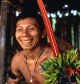 Yanomami chief from Xamata