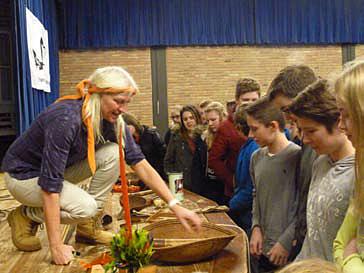 Deutsche Schüler interessieren sich für die Kultur der Yanomami