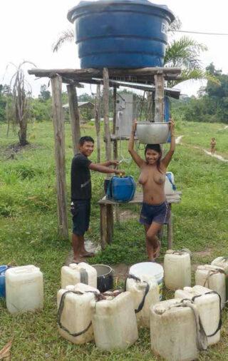 Die neue Wasserfilteranlage