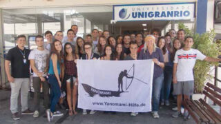 Vortrag in Rio vor Medizinstudenten