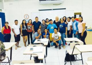 Vortrag für indigene Studenten in BoaVista