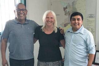 Gute Zusammenarbeit mit Francisco und Junior (SESAI)