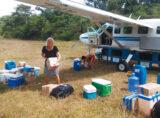 Medizinische Versorgung mit den Buschflugzeugen