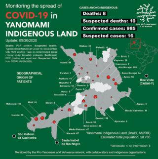 Corona im Yanomami-Gebiet